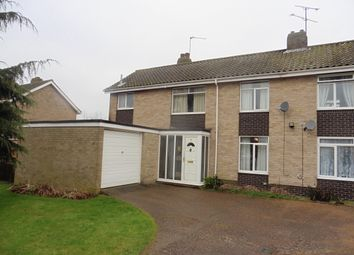Thumbnail 3 bedroom semi-detached house for sale in Peckover Road, Fakenham