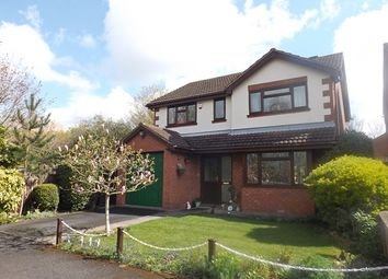 Thumbnail 4 bedroom detached house for sale in Wards Close, Badsey Lane, Evesham