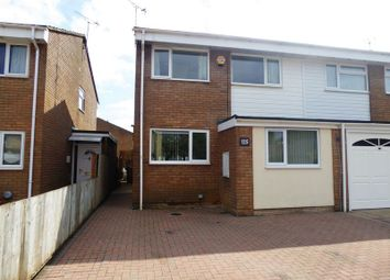Thumbnail 3 bed semi-detached house for sale in Eastmere, Swindon