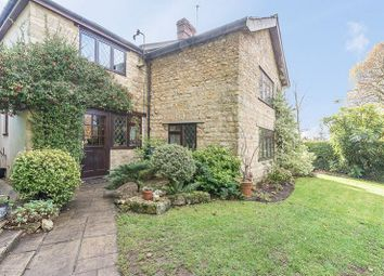 Thumbnail 3 bed cottage for sale in The Green, Turweston, Brackley