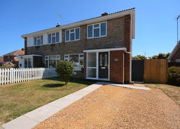 Thumbnail 2 bed semi-detached house for sale in Hall Road, Kessingland, Lowestoft