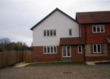 Thumbnail 2 bed end terrace house to rent in Gaston Lane, Upper Farringdon, Alton