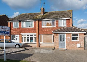 Thumbnail 3 bed semi-detached house for sale in Broughton Avenue, Aylesbury