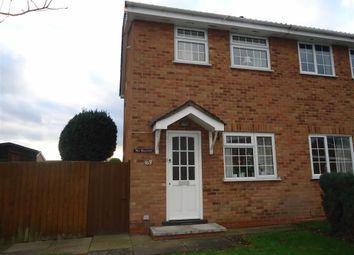 Thumbnail 2 bedroom semi-detached house to rent in Britannia Drive, Burton On Trent, Staffs