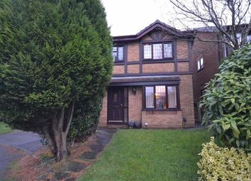 Thumbnail 3 bed detached house to rent in Sherborne Close, Manchester