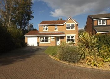 Thumbnail 4 bed detached house for sale in Meadow Vale, Leyland, Preston, Lancashire