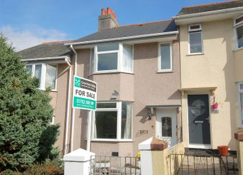Thumbnail 3 bedroom terraced house for sale in Ganges Road, Stoke, Plymouth