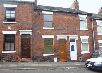 Thumbnail 3 bed terraced house to rent in Milton Street, Shelton, Stoke-On-Trent, Staffordshire