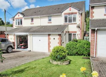 Thumbnail 3 bed semi-detached house for sale in Unicorn Close, Plympton, Plymouth