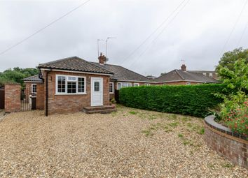 Thumbnail 2 bed semi-detached bungalow for sale in Oval Avenue, New Costessey, Norwich
