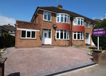 Thumbnail 3 bed semi-detached house for sale in Coniston Drive, Handforth, Wilmslow
