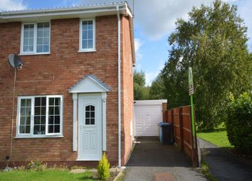 Thumbnail 2 bed semi-detached house to rent in Crowland Avenue, Wolverhampton