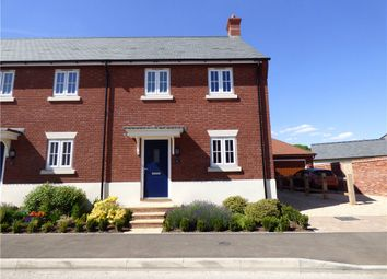 Thumbnail 3 bed semi-detached house to rent in Hutchings Way, Yeovil, Somerset