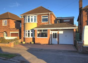 Thumbnail 4 bed detached house for sale in Trinity Road, Enderby, Leicester