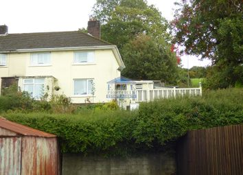 Thumbnail 3 bed end terrace house to rent in Cae Bach, Llangeinor, Bridgend .