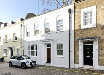 Thumbnail 4 bedroom mews house for sale in Rutland Mews South, London