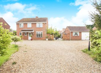 Thumbnail 5 bed detached house for sale in High Road, Saddlebow, King's Lynn