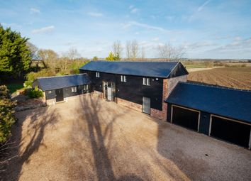 Thumbnail 5 bed barn conversion for sale in Brockley Green, Hundon, Sudbury