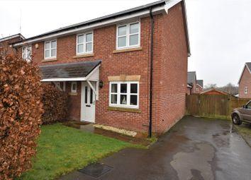 Thumbnail 3 bed semi-detached house for sale in Nant Y Felin, Abermule, Montgomery, Powys