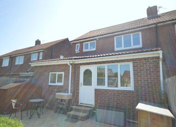 Thumbnail 3 bed semi-detached house for sale in Lilburn Road, Shiremoor, Newcastle Upon Tyne