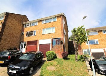 Thumbnail 4 bed end terrace house for sale in Bramble Croft, Erith, Kent
