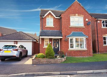 Thumbnail 3 bed detached house for sale in St. Giles Park, Wrexham