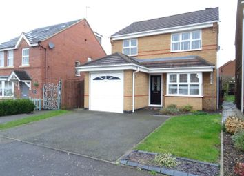 Thumbnail 3 bed detached house for sale in Rushby Road, Ellistown, Leicestershire
