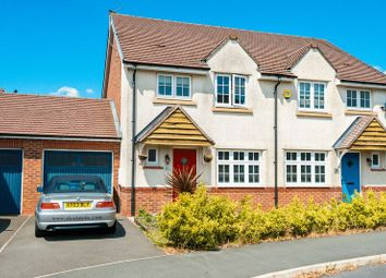 Thumbnail 3 bed semi-detached house for sale in Dorset Drive, Buckshaw Village, Chorley