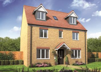 "Thumbnail 5 bed detached house for sale in ""The Newton"" at Drayton High Road, Hellesdon, Norwich"