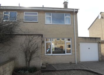 Thumbnail 3 bed semi-detached house to rent in Ringswell Gardens, Bath