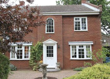 Thumbnail 4 bed detached house for sale in Farman Avenue, North Walsham, Norfolk