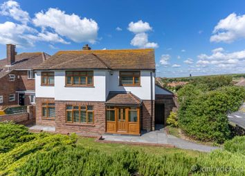 Thumbnail 3 bed detached house for sale in Chailey Avenue, Rottingdean, Brighton