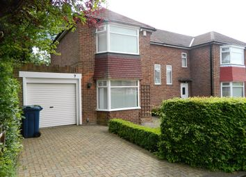 Thumbnail 3 bed semi-detached house for sale in Queens Drive, Whickham, Newcastle Upon Tyne