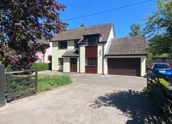 Thumbnail 4 bed detached house for sale in Stonham Road, Mickfield, Stowmarket