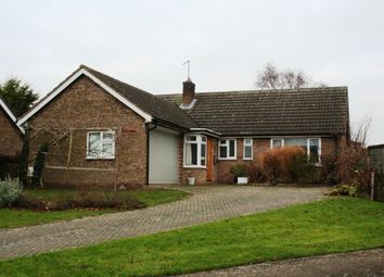 Thumbnail 3 bed detached bungalow for sale in Rose Close, North Luffenham, Oakham