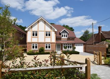 Thumbnail 5 bed detached house for sale in Eversley Centre, Hook