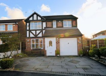 Thumbnail 4 bed detached house for sale in Waterside Close, Radcliffe, Manchester
