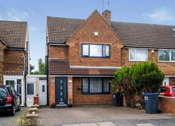 Thumbnail 3 bed end terrace house for sale in Maryland Avenue, Hodge Hill, Birmingham, West Midlands