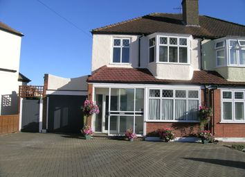 Thumbnail 3 bed semi-detached house for sale in Colborne Way, Worcester Park, Surrey