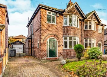 Thumbnail 3 bed semi-detached house for sale in Alma Road, Sale, Manchester, Greater Manchester