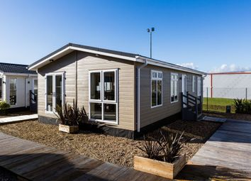 Thumbnail 2 bed lodge for sale in Pettaugh Road, Stonham Aspal, Stowmarket