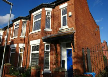 Thumbnail 3 bed end terrace house for sale in Spencer Avenue, Whalley Range, Manchester
