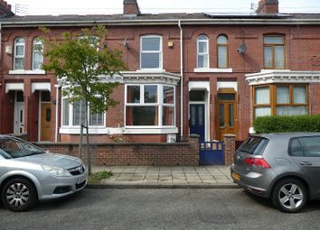 Thumbnail 3 bed terraced house for sale in Milner Street, Old Trafford, Manchester.