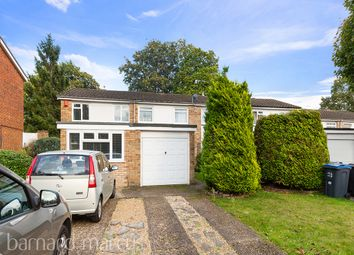 Thumbnail 3 bed semi-detached house for sale in Nicola Close, South Croydon