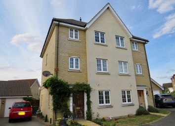 Thumbnail 4 bed semi-detached house for sale in Lapwing Grove, Stowmarket