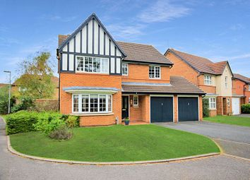 Thumbnail 4 bed detached house for sale in Savoureuse Drive, Stafford