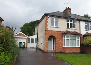 Thumbnail 3 bed semi-detached house to rent in Oakfield Avenue, Glenfield
