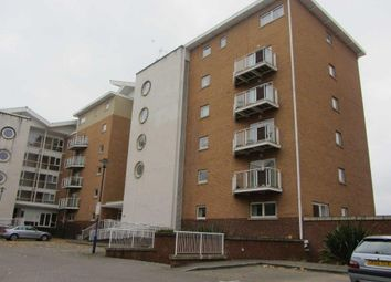 Thumbnail 1 bed property to rent in Chandley Way, Century Wharf, Cardiff