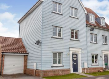 Thumbnail 4 bed semi-detached house for sale in Meadow Crescent, Ipswich