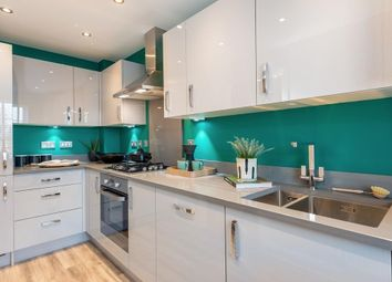 """Thumbnail 3 bedroom semi-detached house for sale in """"Norbury"""" at Sywell Road, Overstone, Northampton"""